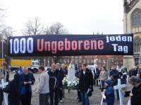 Highlight for Album: 1000 Kreuze für das Leben (Münster)
