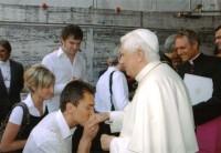 Highlight for Album: Spotkanie z Ojcem sw. - 29.08.2007