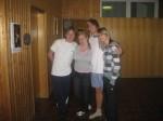 Artur, Paulina, Mike, Ania