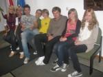 Kasia, Sandra, Sebastian,Tadek, Marcin, Jacek, Cornelia, Nicole