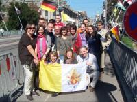 Highlight for Album: Papstbesuch in Freiburg (24+25.09.2011)